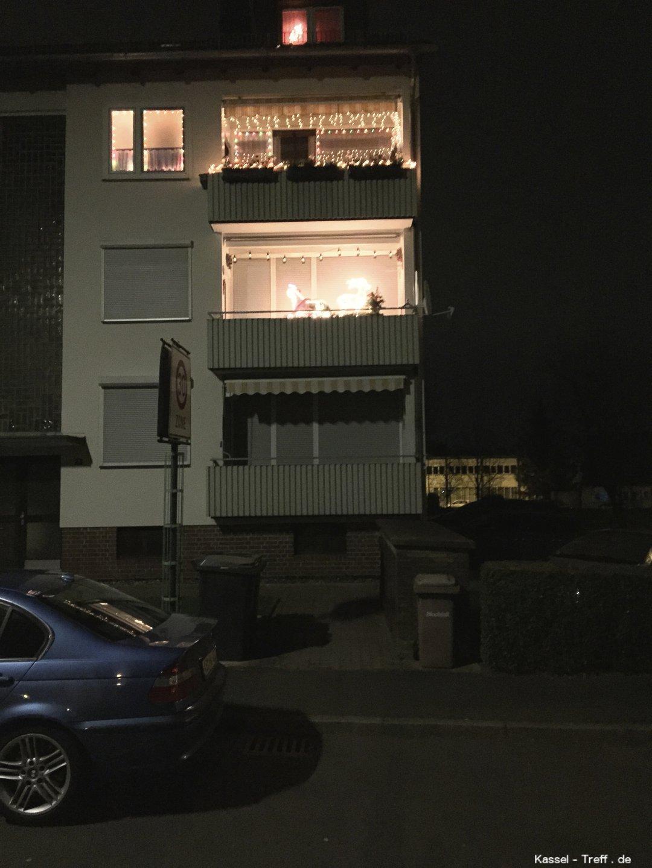 Weihnachtsbeleuchtung Für Balkongeländer.Weihnachtsbeleuchtung Am Balkon Kassel Nordhessen Forum